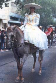 La reina de los Charros de Jalisco, Perla Ibarra Sánchez