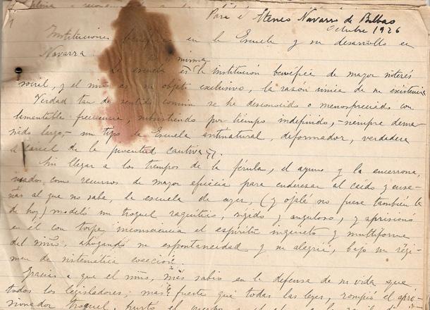 manuscrita