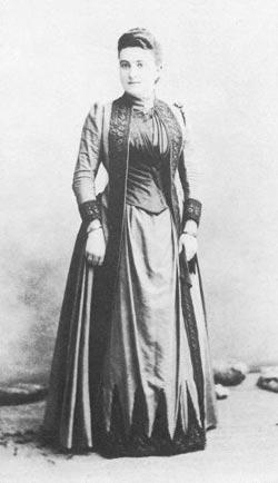 Eulalia Abaitua Allende Salazar fotografiada por Ch.Reutlinger