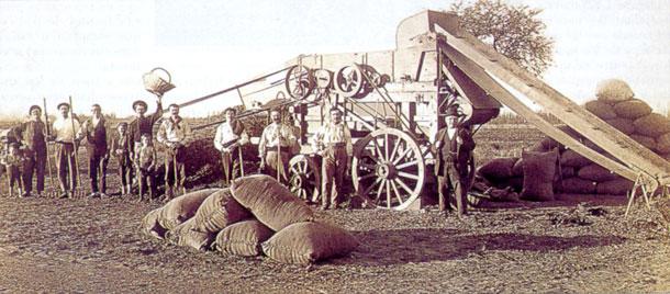 Colonos de la Pampa Gringa