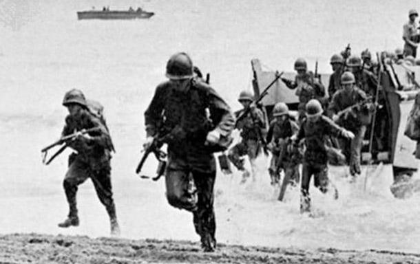 Miles de marines norteamericanos fueron desembarcados en la isla Tulagi y en Gualdacanal