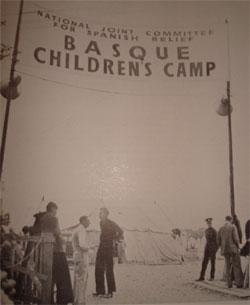 Entrada al campamento de refugiados. Eastleigh, 1937