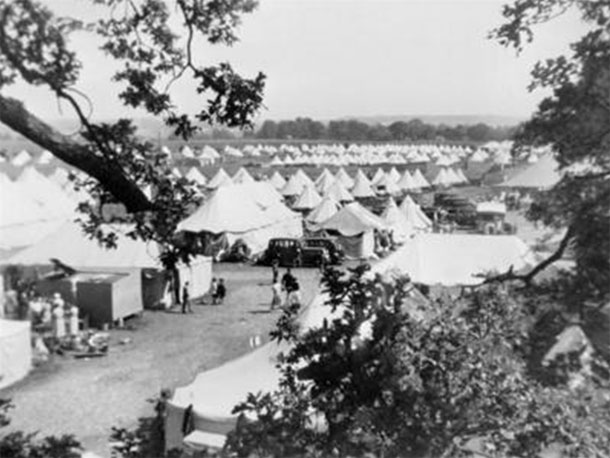 Campamento de refugiados. Eastleigh, 1937.