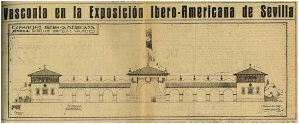 La participaci n de gipuzkoa en la exposici n iberoamericana de sevilla de 1929 gaiak euskonews - Casa de cultura ignacio aldecoa ...