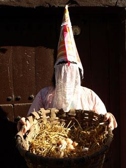 Personaje del Carnaval de Santa Cruz de Campezo