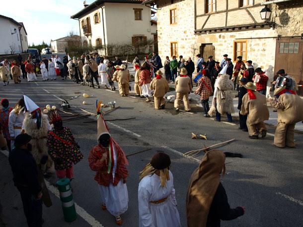 Carnaval de Ilarduia, Egino y Andoin