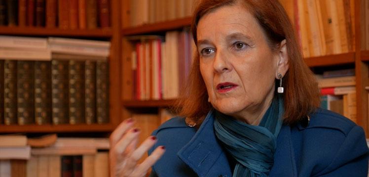 María Elósegui Itxaso. Catedrática de Filosofía del Derecho: La escuela debería educar en valores políticos y de participación