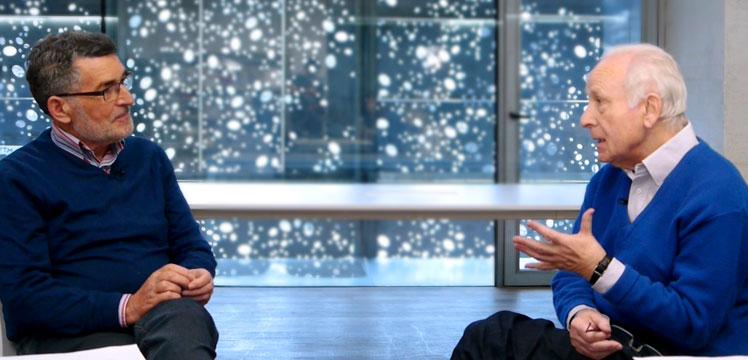 Joan Mari Torrealdai y Joxe Azurmendi. Sociólogo y pensador: Lo que podemos ofrecer al mundo y nadie más lo puede hacer es el euskara