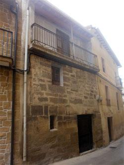 Casa natal de Iradier en Lantziego, Alava