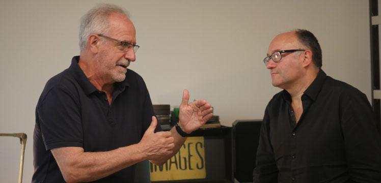 Javier Aguirresarobe y José Luis Rebordinos. Director de Fotografía y Director del Festival de Cine donostiarra: El cine sigue teniendo la magia de las historias contadas en torno al fuego