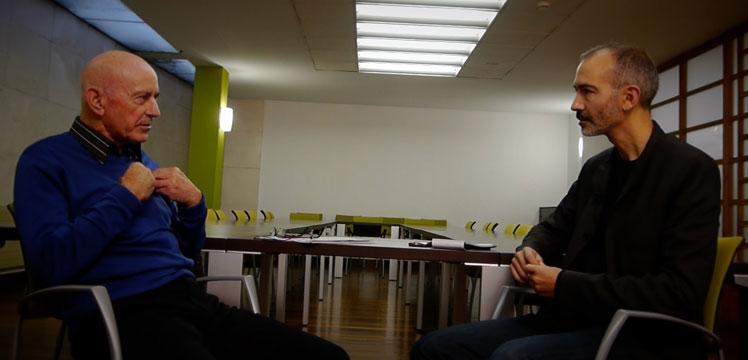 Nicanor Ursua y Antonio Casado. Filósofos: Es socialmente importante que las distintas comunidades científicas colaboren en la creación de pensamiento colectivo
