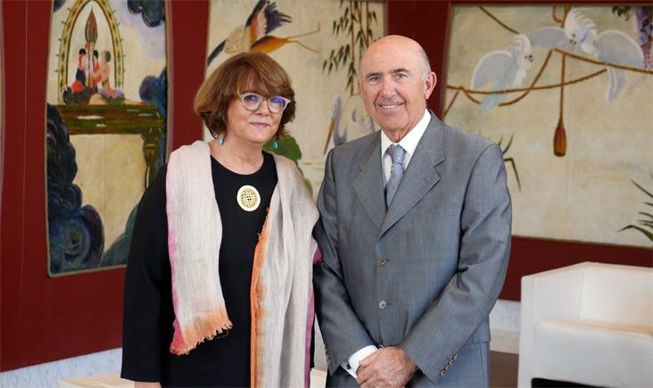 Mayte Sancho y José Félix Martí Massó