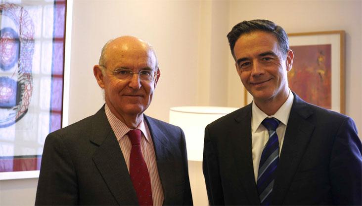 Pedro Luis Uriarte eta Guillermo Dorronsoro