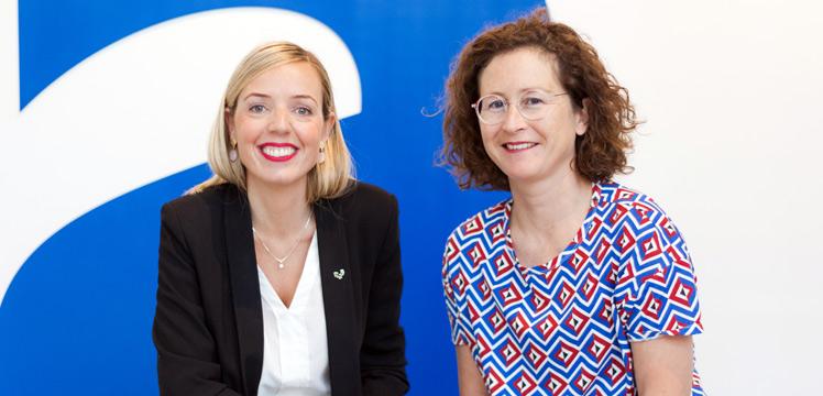 Idoia Zarrazquin y Adriana Martínez. Profesora en la Facultad de Medicina y Enfermería / Directora de APTES: El concepto de envejecimiento está cambiando, se está positivizando