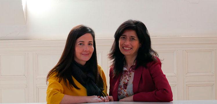 Nerea Ibáñez García. Presidenta de ASPEGI / Susana Zaballa. Presidenta de EmakumeEkin