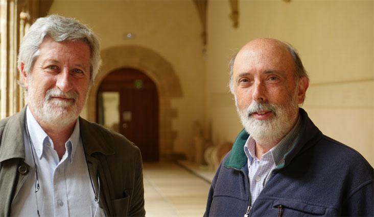 Josu Chueca y Francisco Etxeberria
