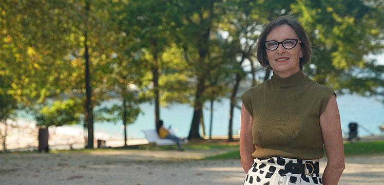 Ana Urkiza / Eusko Ikaskuntzako lehendakaria