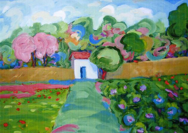 Sara ota o pintura artaretoa euskonews - Pintura instinto ...